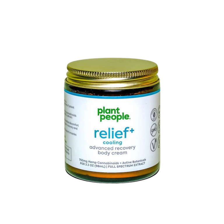 Plant People Relief+ Cooling Body Cream  Product Image