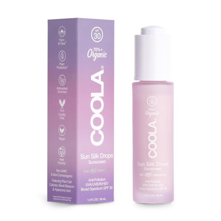 Coola Full Spectrum 360° Sun Silk Drops Organic Face Sunscreen SPF 30  Product Image