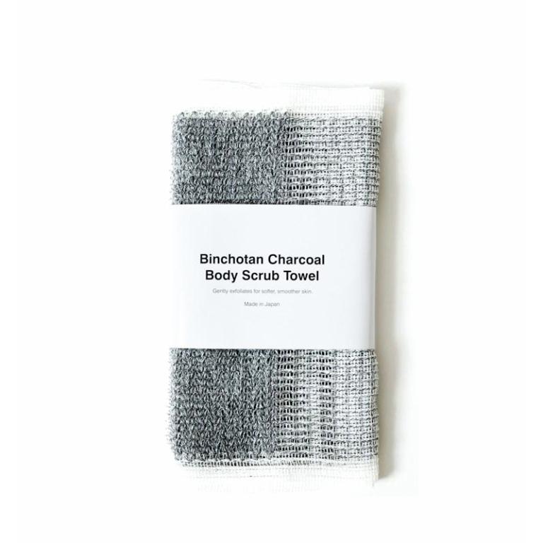 Morihata Binchotan Charcoal Body Scrub Towel  Product Image
