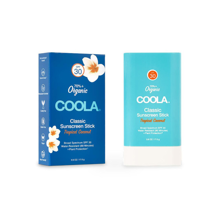 Coola Classic Organic Sunscreen Stick SPF 30 Tropical Coconut Product Image