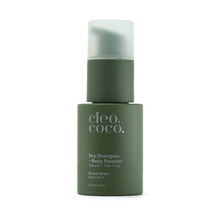 Cleo+Coco Dry Shampoo + Body Powder Brave Heart, Basil Mint Product Image