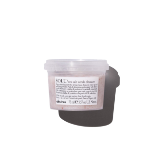 Davines SOLU Sea Salt Scrub Cleanser 75 ml Product Image