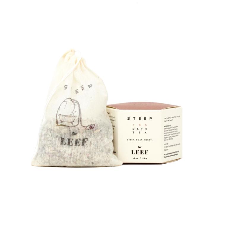 Leef Organics Steep CBD Bath Tea 113 g Product Image