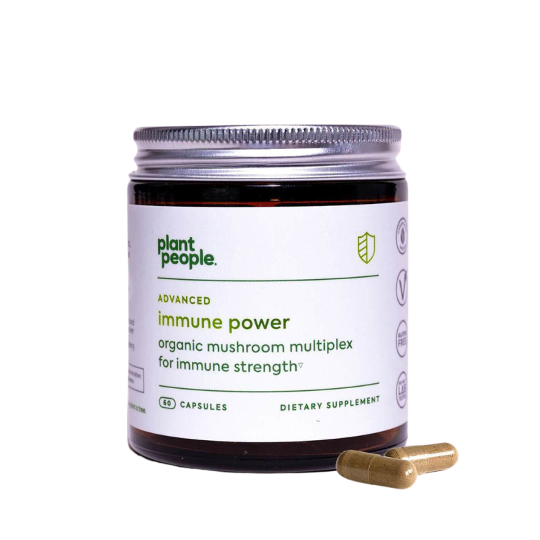 Plant People Advanced Immune Power  Product Image