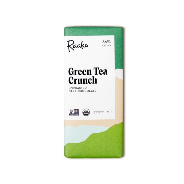 Raaka Green Tea Crunch  Product Image