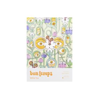 Bon Temps Non-Toxic & Plastic-Free Tea White Product Image