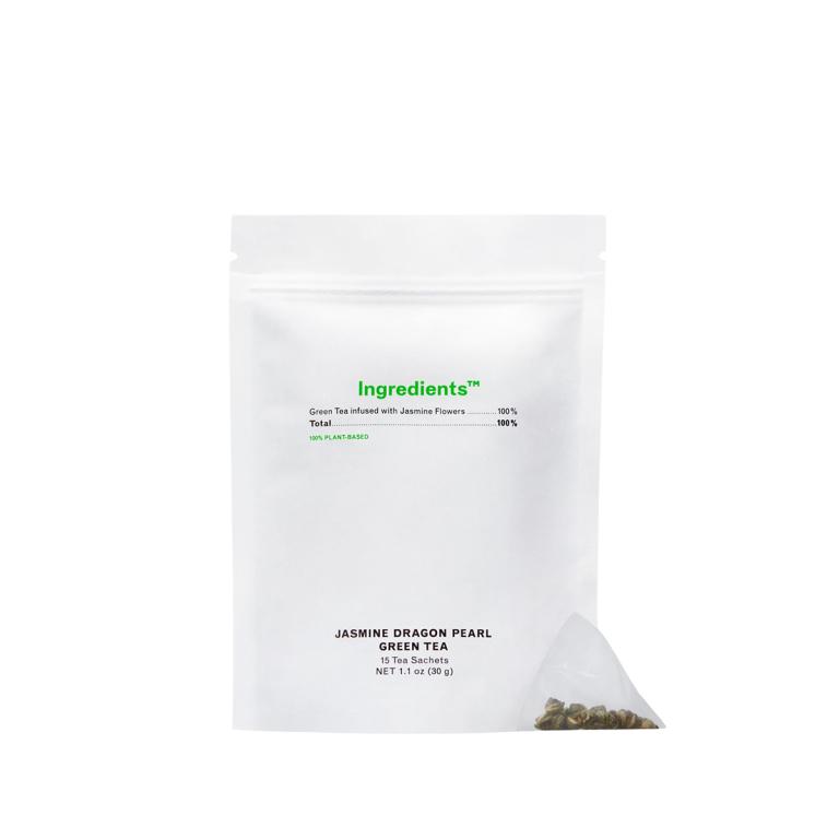 Ingredients Tea Jasmine Dragon Pearl Green Product Image