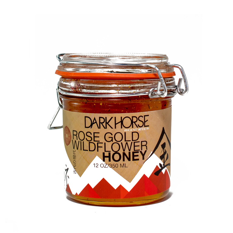 Dark Horse Rose Gold Wildflower Honey  Product Image