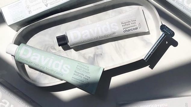 Davids Natural Toothpaste Brand Image