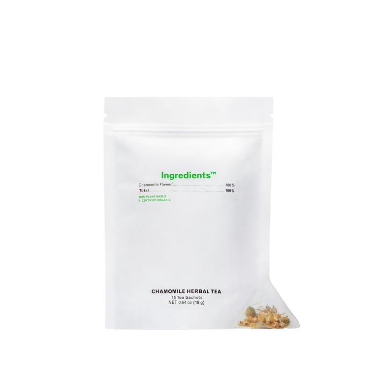 Ingredients Tea Chamomile Herbal Product Image
