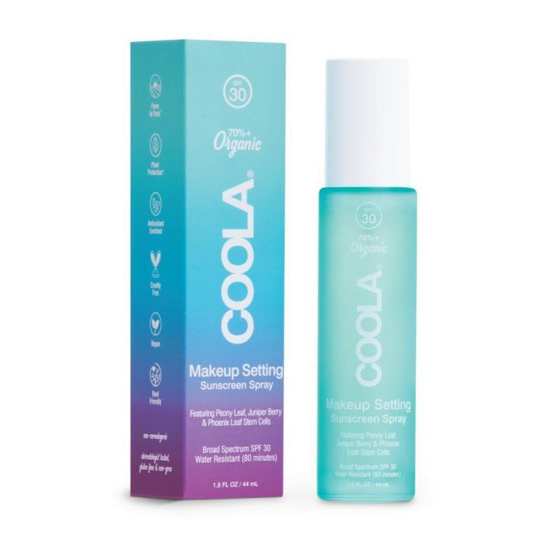 Coola Makeup Setting Spray Organic Sunscreen SPF 30  Product Image