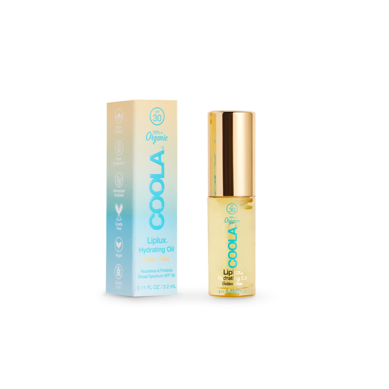 Coola Classic Liplux Organic Hydrating Lip Oil Sunscreen SPF 30  Product Image