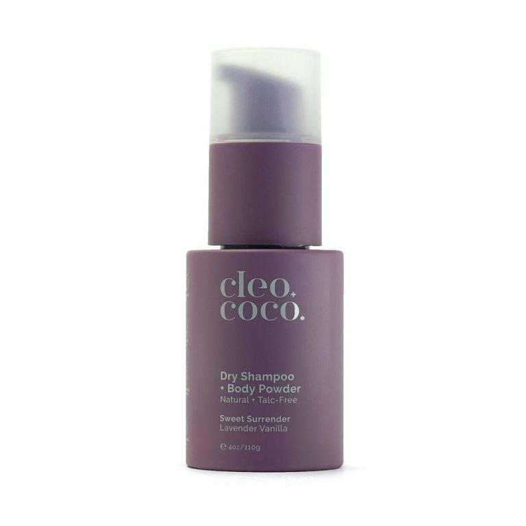 Cleo+Coco Dry Shampoo + Body Powder Sweet Surrender, Lavender Vanilla Product Image