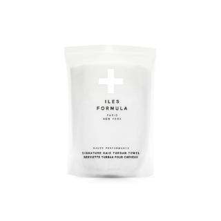 Iles Formula Hair Turban Towel  White Product Image