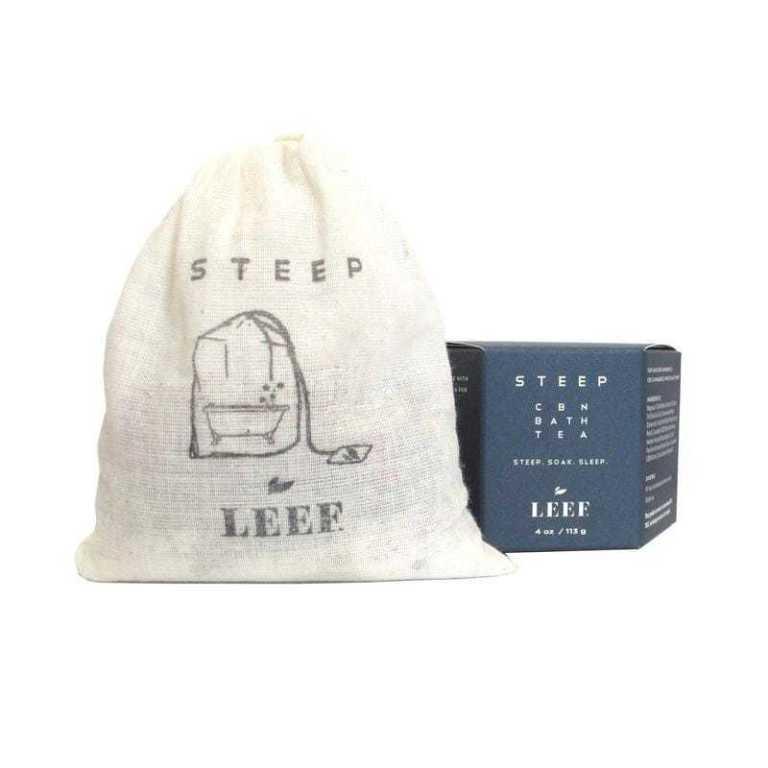 Leef Organics Steep CBN Bath Tea 113 g Product Image