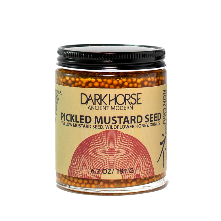 Dark Horse Pickled Mustard Seed  Product Image