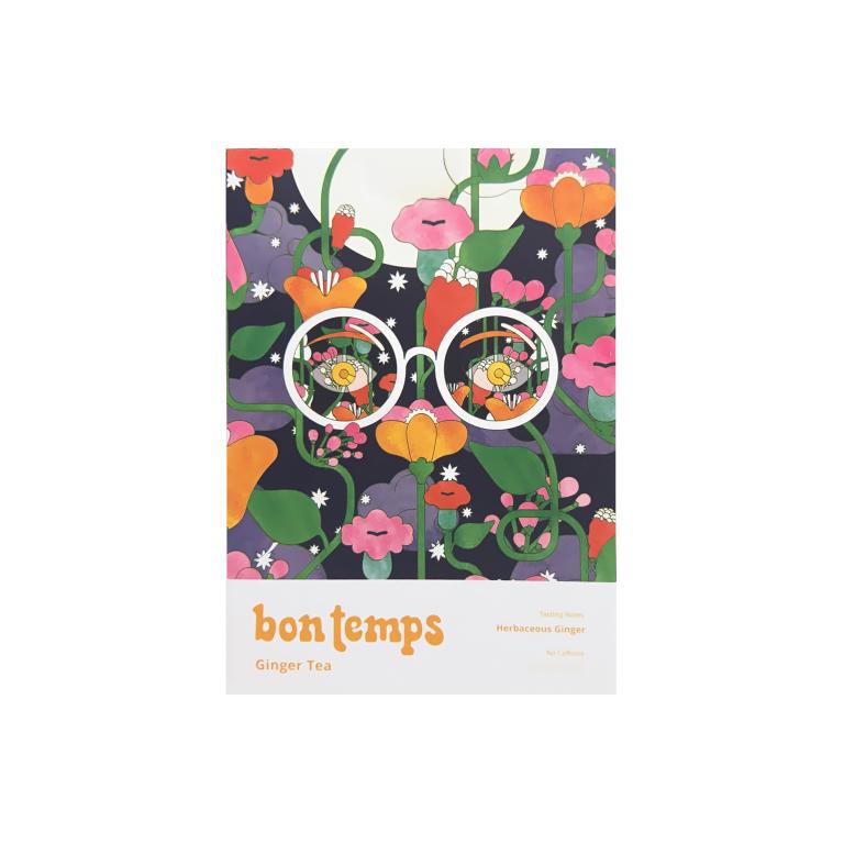 Bon Temps Non-Toxic & Plastic-Free Tea Ginger Product Image