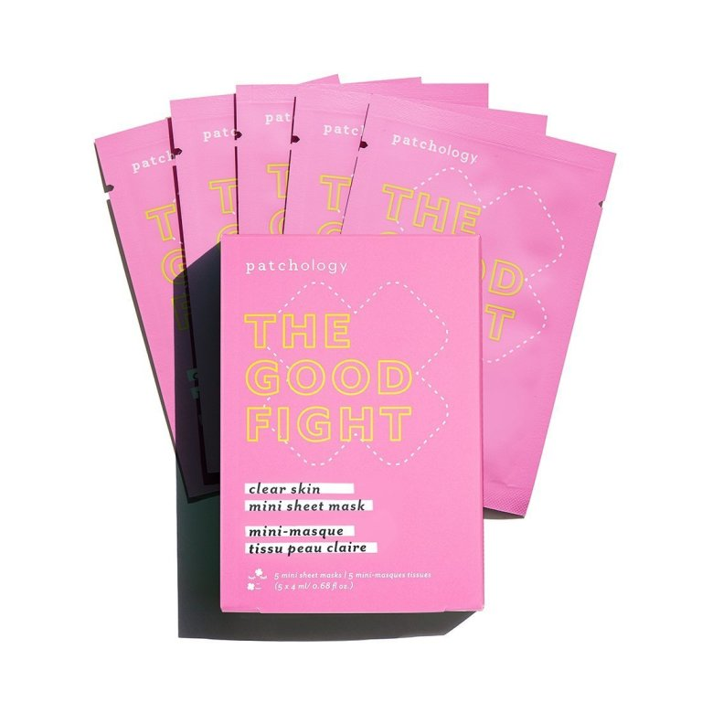 Patchology The Good Fight Clear Skin Mini Sheet Mask  Product Image